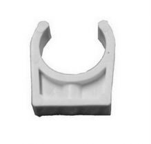 "2"" White ABS Pipe Clips"